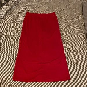 Forever 21 soft pencil skirt